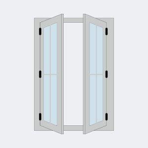 Jual Jendela Aluminium Murah