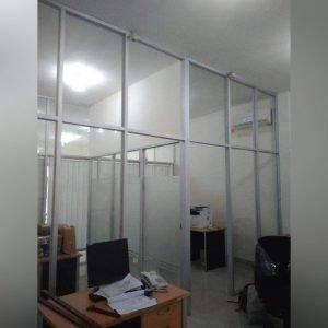 Partisi Ruang Kantor Aluminium