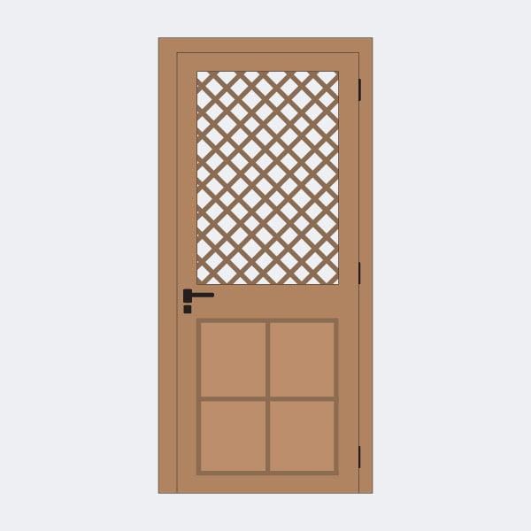 Jual Pintu Kawat Nyamuk | Harga Pintu Aluminium Kawat Nyamuk