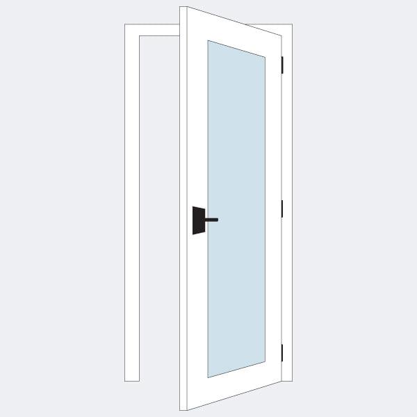 Jual Pintu Aluminium Minimalis