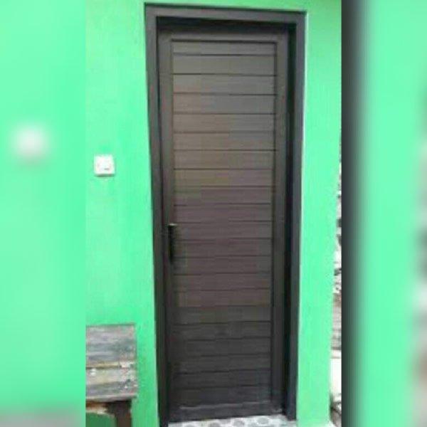 Jual Pintu Aluminium Single   Pintu Aluminium Single Murah