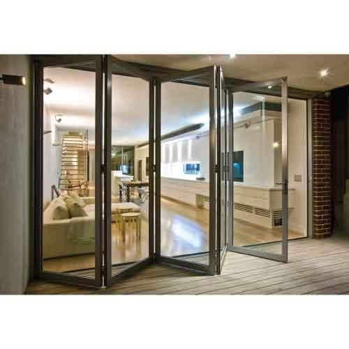Pintu Aluminium Kaca Lipat | Jasa Pembuatan Kusen Aluminium