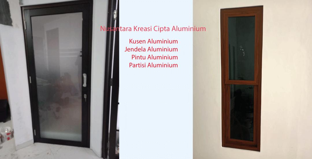 Kontraktor Pintu Jendela Aluminium